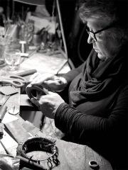 Jewellery artist Tracy Hopkirk