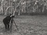 Photographer Adriana Mendivil at work.