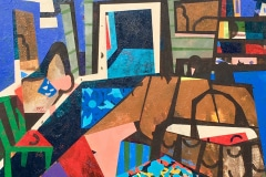 Helen Oprey: <em>In My Room</em>, acrylic on canvas, 2019