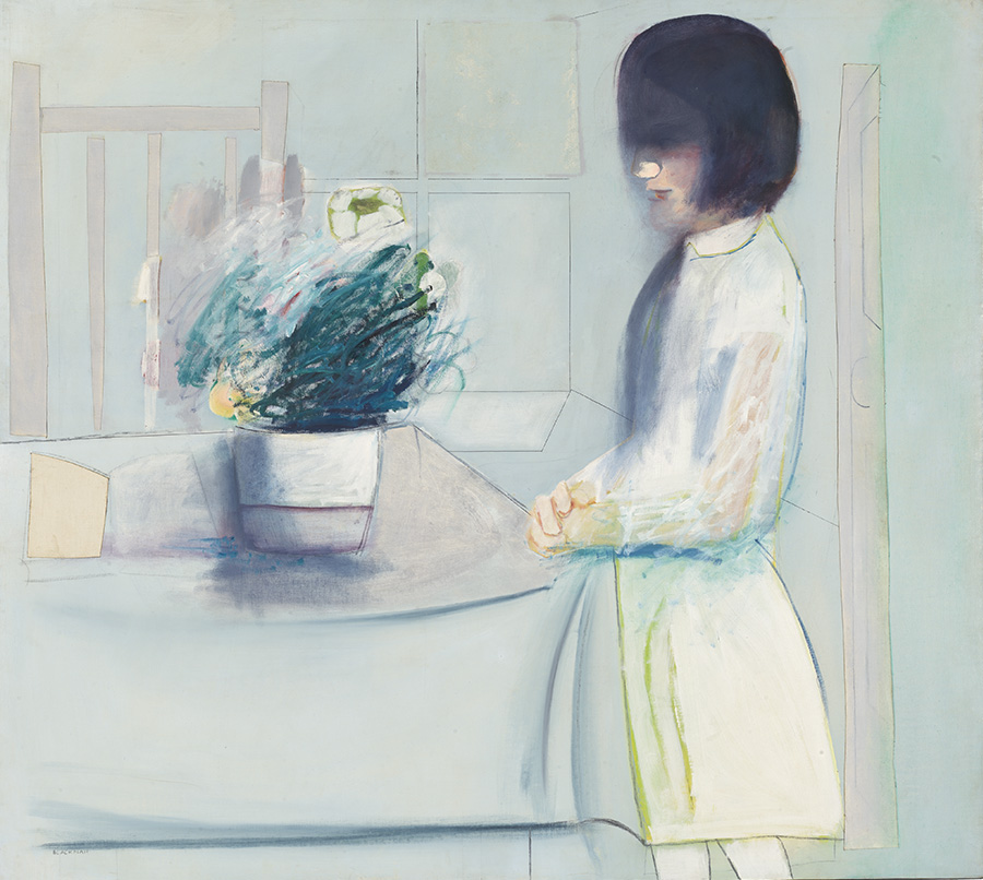 Charles Blackman: Anteroom, 1963.