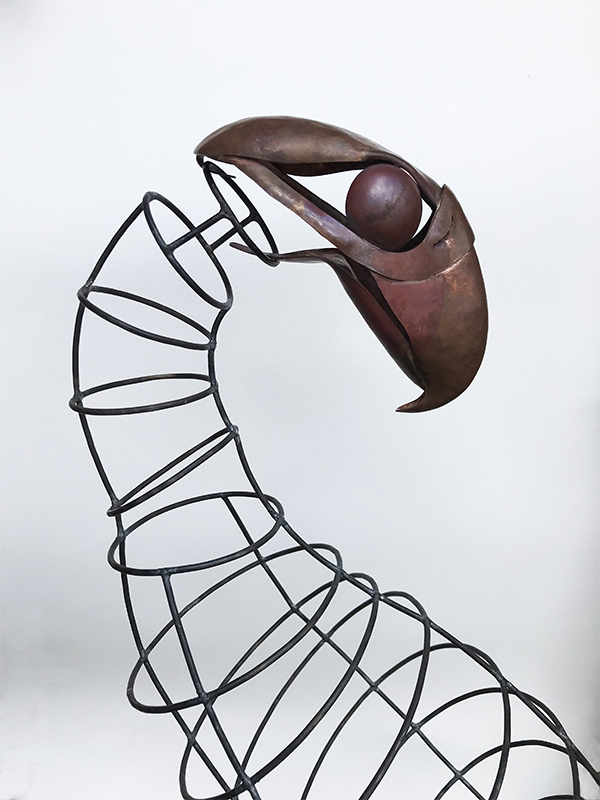 Tracy Hopkirk: Eagle and the Wind,  weathervane - steel