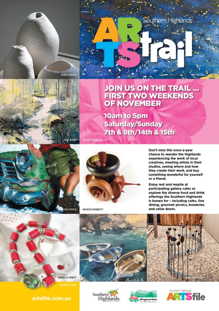 Visit us during the Southern Highlands Arts Trail 2020